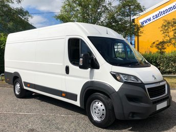 2015 PEUGEOT BOXER 2.2 HDI 435 HEAVY PROFESSIONAL L4H2 XLWB [ Low mileage ] VAN A/C SAT NAV FREE UK DELIVERY £13950.00
