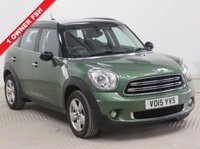 USED 2015 15 MINI COUNTRYMAN 1.6 COOPER 5d 122 BHP 1 Owner, Full Mini Service History, Mini Service Pack until 30.3.2020 and MOT until March 2019.  Parking Sensors, Bluetooth, Air Conditioning, Alloys, CD, USB/AUX. Free RAC Warranty and Free RAC Breakdown Cover.