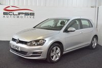 2015 VOLKSWAGEN GOLF 1.6 MATCH TDI BLUEMOTION TECHNOLOGY 5d 103 BHP £10995.00