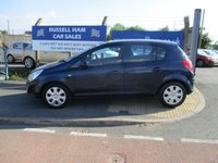 USED 2011 11 VAUXHALL CORSA 1.2 EXCLUSIV AC CDTI ECOFLEX 5d 73 BHP £30 Yearly Road Tax .New MOT & Full Service Done on purchase + 2 Years FREE Mot & Service Included After . 3 Months Russell Ham Quality Warranty . All Car's Are HPI Clear . Finance Arranged - Credit Card's Accepted . for more cars www.russellham.co.uk  - Owners book pack .