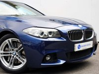 USED 2015 65 BMW 5 SERIES 3.0 535D M SPORT 4d AUTO 309 BHP BEAUTIFUL EXAMPLE with GENEROUS SPECIFICATION......