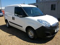 USED 2015 15 VAUXHALL COMBO 1.2 2000 L1H1 CDTI 1d 90 BHP AIR CONDITIONING TWIN SIDE DOORS VERY ECONOMICAL VAN
