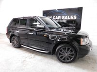 USED 2008 58 LAND ROVER RANGE ROVER SPORT 2.7 TDV6 SPORT HSE 5d AUTO 188 BHP