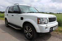 2011 LAND ROVER DISCOVERY 3.0 4 SDV6 LANDMARK LE 5d AUTO 245 BHP £SOLD