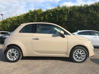 2015 FIAT 500 1.2 LOUNGE 3d  ONE LADY OWNER WITH A VERY LOW MILEAGE  £6750.00