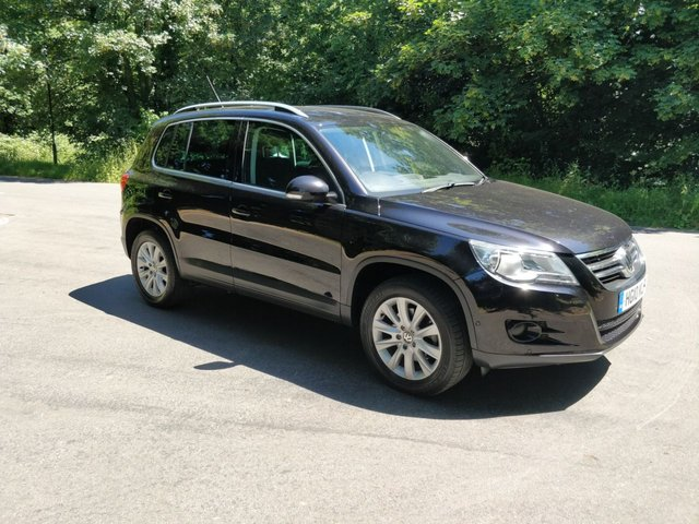 2010 10 VOLKSWAGEN TIGUAN 1.4 SE TSI BLUEMOTION TECHNOLOGY 5d 150 BHP