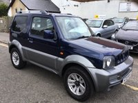 USED 2009 09 SUZUKI JIMNY 1.3 JLX PLUS 3d 85 BHP OUR  PRICE INCLUDES A 6 MONTH AA WARRANTY DEALER CARE EXTENDED GUARANTEE, 1 YEARS MOT AND A OIL & FILTERS SERVICE. 6 MONTHS FREE BREAKDOWN COVER.   CALL US NOW FOR MORE INFORMATION OR TO BOOK A TEST DRIVE ON 01315387070 !! !! LIKE AND SHARE OUR FACEBOOK PAGE !!