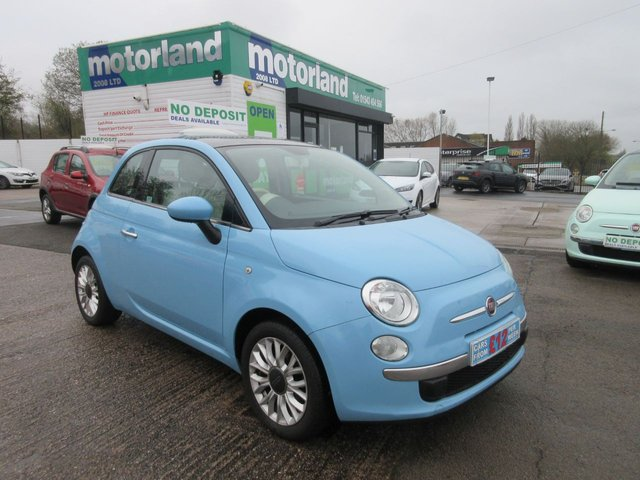 USED 2014 64 FIAT 500 1.2 LOUNGE 3d 69 BHP £0 DEPOSIT FINANCE DEALS AVAILABLE