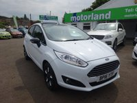 USED 2016 16 FORD FIESTA 1.2 ZETEC WHITE EDITION AUTUMN 5d 81 BHP **JUST ARRIVED....ZERO DEPOSIT FINANCE DEALS AVAILABLE...CALL 01543 877320