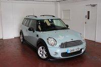2011 MINI CLUBMAN 1.6 ONE 5d 98 BHP £6995.00