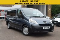 USED 2011 11 PEUGEOT EXPERT 1.6 HDI TEPEE COMFORT 5d 90 BHP Fitted with lowered floor and an M1 approved wheelchair access ramp and electric belts. 6 seats, air con, privacy glass, air suspension, single tailgate, twin side sliding doors. JUST £7899 WITH NO VAT.