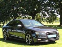 2013 AUDI A4 3.0 S4 QUATTRO BLACK EDITION 4d AUTO 329 BHP £21590.00