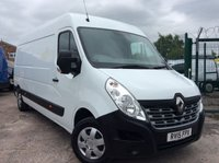 2015 RENAULT MASTER 2.3 LM35 BUSINESS PLUS ENERGY DCI S/R 165 BHP 1 OWNER FSH AIR CON SAT NAV £12800.00