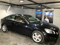 USED 2010 60 VOLVO S60 2.0 D3 SE LUX 4d 161 BHP Bluetooth  :  DAB Radio : Full leather upholstery      :      Heated front seats      :      Electric/Memory driver's seat     : Rear parking sensors   :   Full Volvo main dealer service history