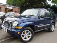 2006 JEEP CHEROKEE 2.8 LIMITED CRD 5d 161 BHP £2695.00