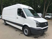 USED 2015 15 VOLKSWAGEN LT CRAFTER 2.0 CR35 TDI LWB Insulated Load Area, Integral Cage