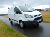 USED 2014 14 FORD TRANSIT CUSTOM 2.2 270 LR P/V 1d 99 BHP