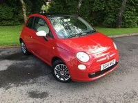 2014 FIAT 500 1.2 COLOUR THERAPY 3d 69 BHP £5295.00