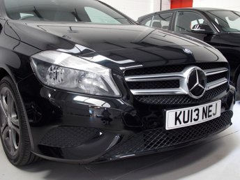 2013 MERCEDES-BENZ A CLASS 1.6 A180 BLUEEFFICIENCY SPORT 5d AUTO 122 BHP £12450.00
