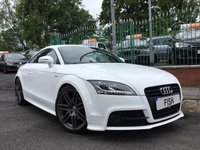 USED 2011 11 AUDI TT Coupe 2.0 TFSI S LINE BLACK EDITION 2d 208BHP 2KEYS+FSH8STAMPS+LOADS XTRAS+