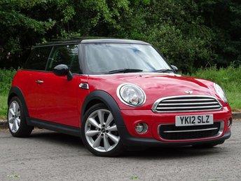 2012 MINI HATCH COOPER 2.0 COOPER D 3d AUTO 110 BHP £8000.00