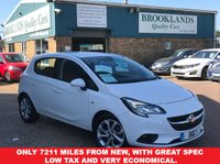 USED 2015 15 VAUXHALL CORSA 1.4 EXCITE AC ECOFLEX 5d 89 BHP Only 7211 miles from new, with great spec low tax and very economical.