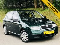 USED 2003 03 SKODA FABIA 1.4 CLASSIC 16V 5d AUTO 74 BHP ANY INSPECTION WELCOME ---- ALWAYS SERVICED ON TIME EVERY TIME AND SERVICED MAINLY BY SAME DEALERSHIP THROUGHOUT ITS LIFE,NO EXPENSE SPARED, KEPT TO A VERY HIGH STANDARD THROUGHOUT ITS LIFE, A REAL TRIBUTE TO ITS PREVIOUS OWNER, LOOKS AND DRIVES REALLY NICE IMMACULATE CONDITION THROUGHOUT, MUST BE SEEN FOR THE PRICE BARGAIN BE QUICK, 6 MONTHS WARRANTY AVAILABLE,DEALER FACILITIES,WARRANTY,FINANCE,PART EX,FIRST TO SEE WILL BUY BARGAIN