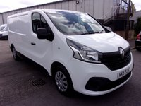2015 RENAULT TRAFIC 1.6 LL29 BUSINESS PLUS ENERGY DCI S/R P/V 1d 120 BHP £9650.00