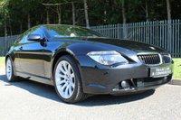 2007 BMW 6 SERIES 4.8 650I SPORT 2d AUTO 363 BHP £8000.00