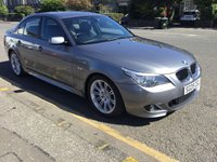 USED 2009 09 BMW 5 SERIES 2.0 520D M SPORT BUSINESS EDITION 4d 175 BHP PRICE INCLUDES A 6 MONTH AA WARRANTY DEALER CARE EXTENDED GUARANTEE, 1 YEARS MOT AND A OIL & FILTERS SERVICE. 6 MONTHS FREE BREAKDOWN COVER.