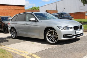 2015 BMW 3 SERIES 2.0 320D XDRIVE SPORT TOURING 5d AUTO 181 BHP £17750.00