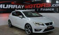 USED 2013 SEAT LEON 2.0 TDI FR 5DOOR 150 BHP GLACIER WHITE