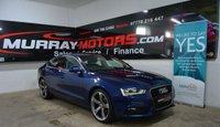 2014 AUDI A5 2.0 SPORTBACK TDI SE TECHNIK 174 BHP SCUBA BLUE £14250.00