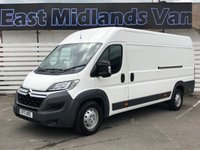 USED 2017 17 CITROEN RELAY 2.0 35 HEAVY L4H2 ENTERPRISE BLUEHDI 1d 129 BHP