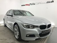 USED 2016 BMW 3 SERIES 2.0 320D XDRIVE M SPORT 4d AUTO 188 BHP *** FULL LEATHER HEATED SEATS & SAT NAV ***