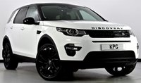 USED 2016 16 LAND ROVER DISCOVERY SPORT 2.0 TD4 HSE Black 4X4 (s/s) 5dr Auto Pan Roof, Park Assist, Sat Nav