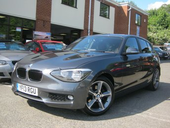 2013 BMW 1 SERIES 2.0 120D XDRIVE SE 5d 181 BHP £9995.00