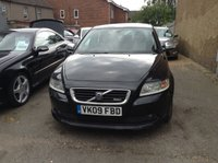 USED 2009 09 VOLVO S40 1.6 SPORT 4d 100 BHP ONE OWNER SINCE 2010