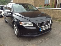 2009 VOLVO S40 1.6 SPORT 4d PETROL BLACK MANUAL  £2990.00