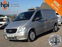 2012 MERCEDES-BENZ VITO 2.1 113 CDI BLUEEFFICIENCY LONG LWB AC TEMPERATURE CONTROLLED FRIDGE VAN £8590.00