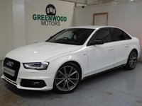2015 AUDI A4 2.0 TDI Black Edition Plus 4dr £15494.00