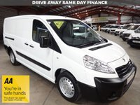 USED 2016 66 PEUGEOT EXPERT 1.6 HDI 1200 L2H1 LWB VAN - ONE OWNER - '' YOU'RE IN SAFE HANDS  ''  WITH THE AA DEALER PROMISE