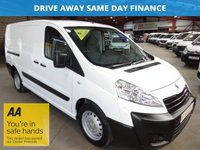USED 2016 16 PEUGEOT EXPERT 2.0 HDI 1200 L2H1 130 BHP LWB-ONE OWNER '' YOU'RE IN SAFE HANDS  ''  WITH THE AA DEALER PROMISE