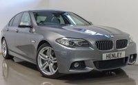 2015 BMW 5 SERIES 3.0 530D M SPORT 4d AUTO 255 BHP £19990.00