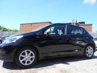 USED 2015 65 PEUGEOT 208 1.2 ACTIVE 5d 82 BHP 22,000 MILES JUST £20 PER YEAR ROAD TAX