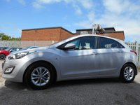 USED 2013 13 HYUNDAI I30 1.6 ACTIVE BLUE DRIVE CRDI 5d 109 BHP ONE FORMER KEEPER ZERO ROAD TAX