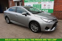 USED 2015 65 TOYOTA AVENSIS 1.6 D-4D BUSINESS EDITION 4d 110 BHP +Reverse Camera +LOW Road Tax.