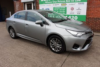 2015 TOYOTA AVENSIS 1.6 D-4D BUSINESS EDITION 4d 110 BHP £9999.00