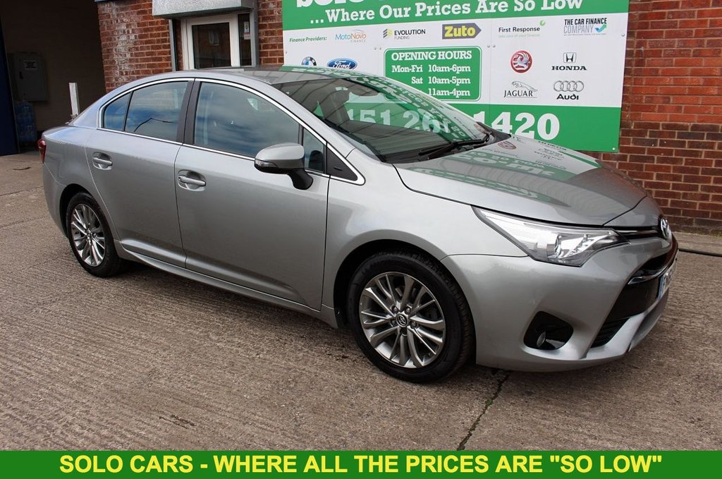 2015 65 TOYOTA AVENSIS 1.6 D-4D BUSINESS EDITION 4d 110 BHP