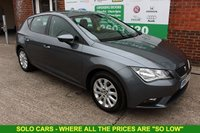 USED 2013 63 SEAT LEON 1.6 TDI SE 5d 105 BHP +6 Stamp FSH +FREE Tax Band.